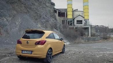 Opel Corsa GSi in Val Seriana VIDEO