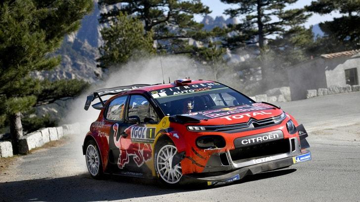 Rally Corsica: Citroen in difficoltà nella prima giornata