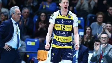 Volley: Modena travolge Milano in Gara 1 dei Quarti