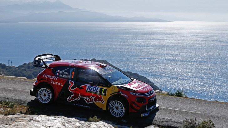 Rally Corsica: Ogier avanza, Evans in testa