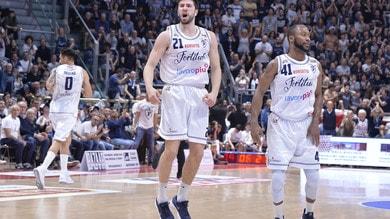 Basket, la Fortitudo Bologna fa festa: la Effe è di nuovo in Serie A