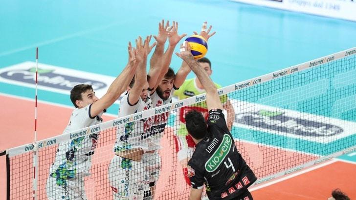 Volley: Superlega, in Gara 1 dei Quarti: le grandi non steccano