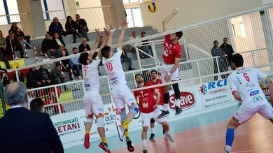 Volley: A2 Maschile, Girone Blu, l'ultimo posto Play Off è di Cantù