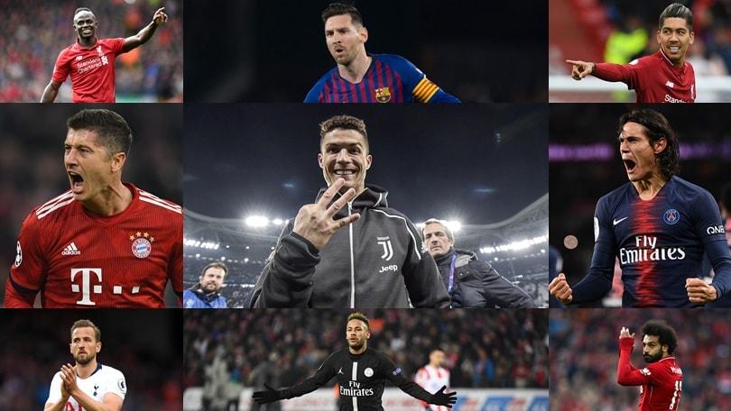 Uefa, nove stelle della Champions: c'è anche Cristiano Ronaldo e voi quale tridente scegliereste?