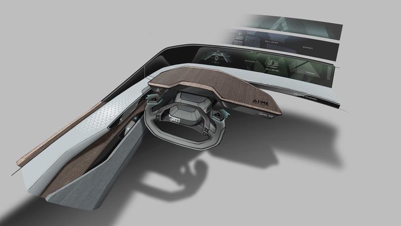 AI:me, i primi dettagli della concept car Audi