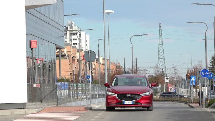 Nuova Mazda6: test al volante VIDEO