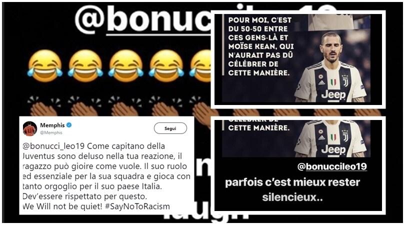 Cagliari, Kean, i buu razzisti: scambio social Sterling-Bonucci