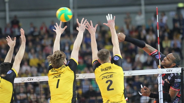 Volley: Champions League,Civitanova vince a Lodz, la finale è ad un passo
