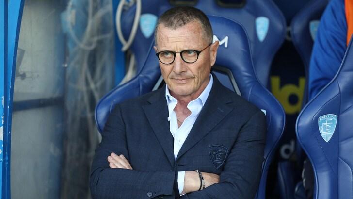 Serie A Empoli, Andreazzoli: «Prestazione figlia della gara con la Juve»