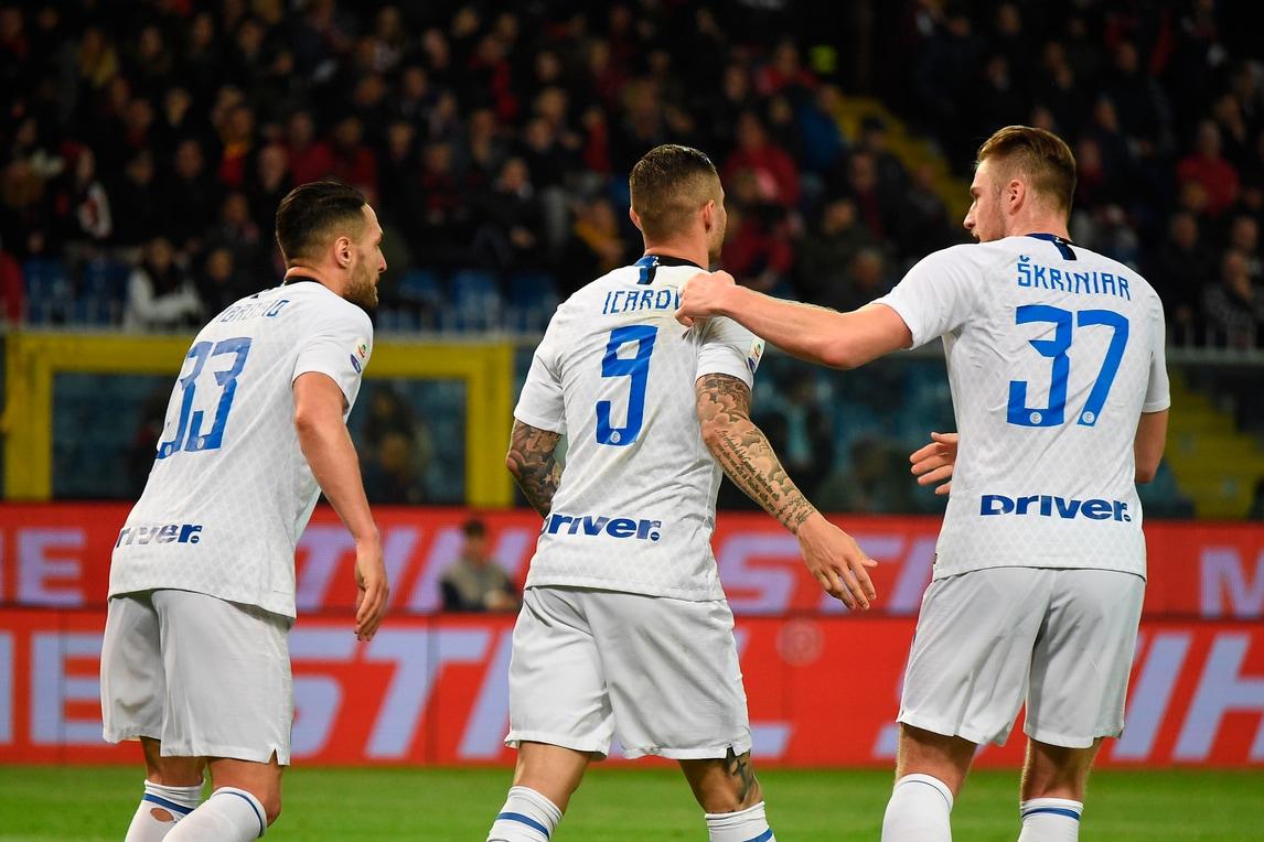 Inter a valanga sul Genoa: Icardi torna e segna
