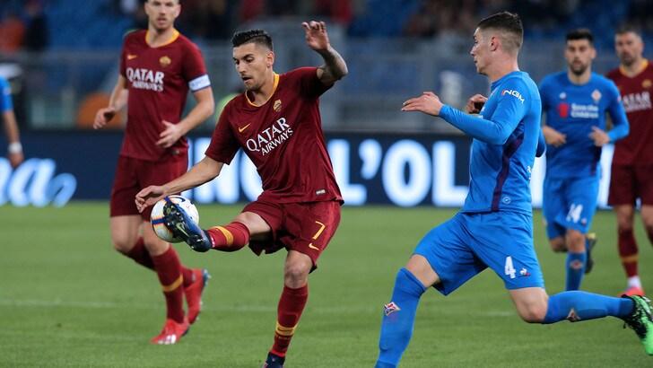 Serie A Roma-Fiorentina 2-2, il tabellino