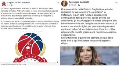 Basket, Cagliari: Rovatti fuori rosa per insulto social a Selvaggia Lucarelli