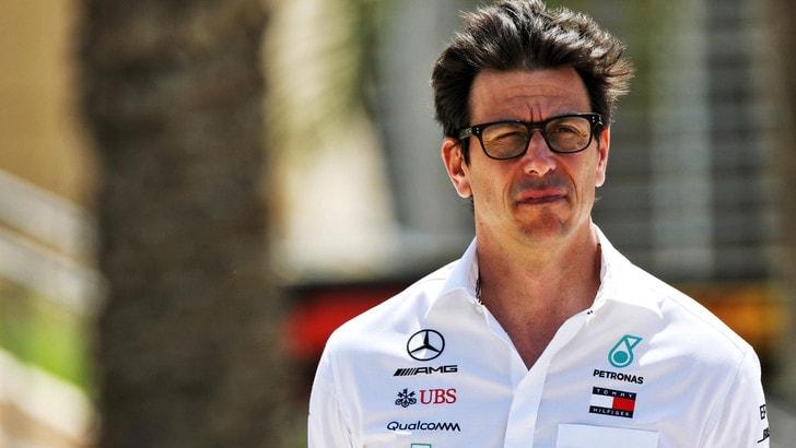 F1 Mercedes, Wolff: «Felice, ma Baku fa paura»