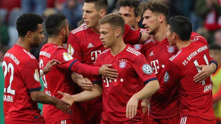 Bundesliga: Bayern-Dortmund, i bookmaker spingono l'«1»