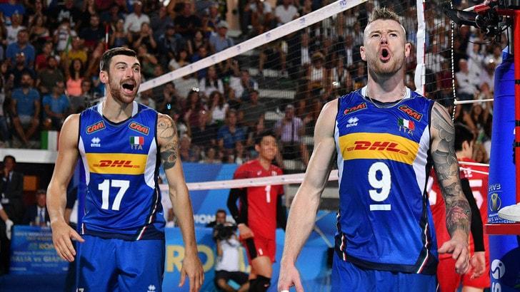 Calendario Pallavolo Maschile Mondiali.Volley Volleyball Nations League Ufficializzati I