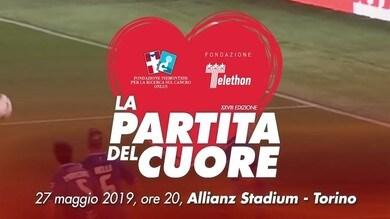 La partita del cuore all'Allianz Stadium: la presentazione