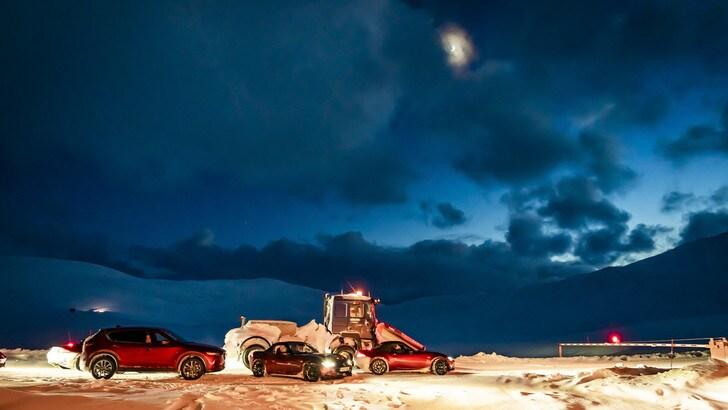 Mazda, missione Polo Nord con CX-5