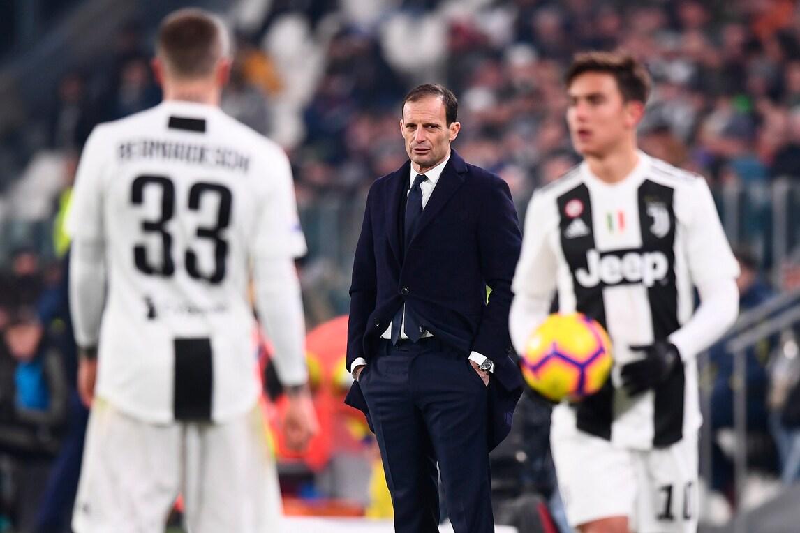 Juve, la formazione ufficiale contro il Milan