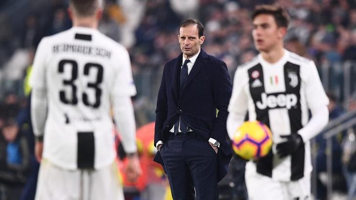 Serie A, Juve-Milan: bianconeri avanti a 1,77