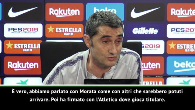 """Valverde: """"Boateng consapevole che avrebbe giocato poco"""""""