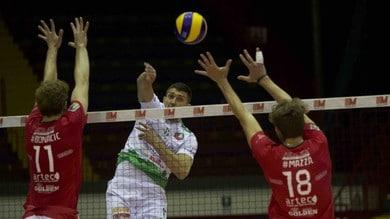 Volley: A2 Maschile, per Macerata esordio Play Off vincente a Catania