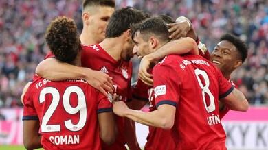 Bundesliga, il Bayern Monaco travolge il Borussia Dortmund: manita e sorpasso