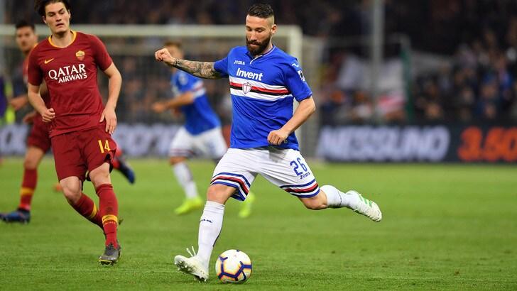 Serie A Sampdoria, lavoro specifico per Tonelli e Sau