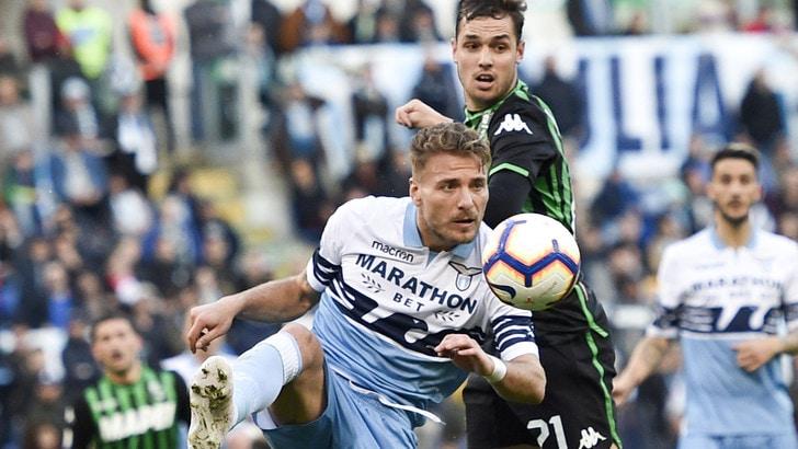 Serie A Lazio-Sassuolo 2-2, il tabellino
