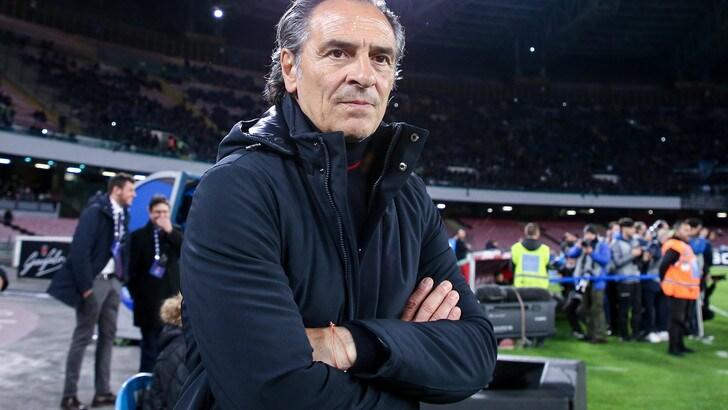Serie A Genoa, Prandelli: «La Roma è una squadra quadrata»