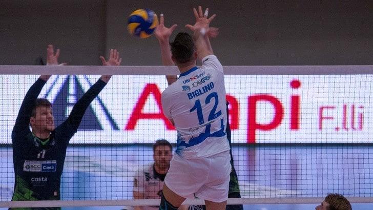 Volley: A2 Maschile, Gara 1 dei Quarti Play Off imprese per Cantù e Brescia