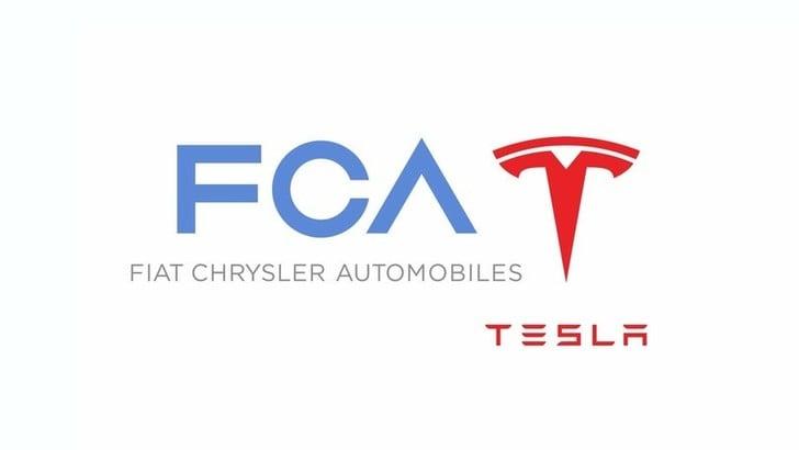 FCA e Tesla: accordo per diminuire le emissioni