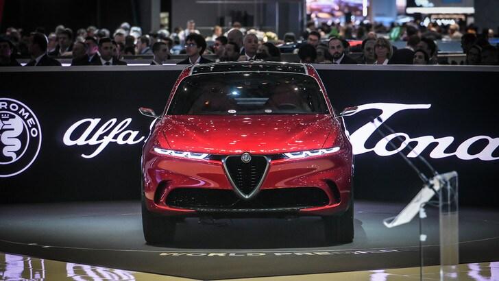 L'Alfa Romeo Tonale in mostra alla Milano Design Week