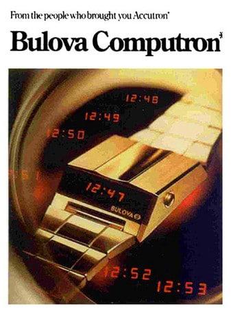 Bulova espone Computron Digital Led alla Design Week di Milano