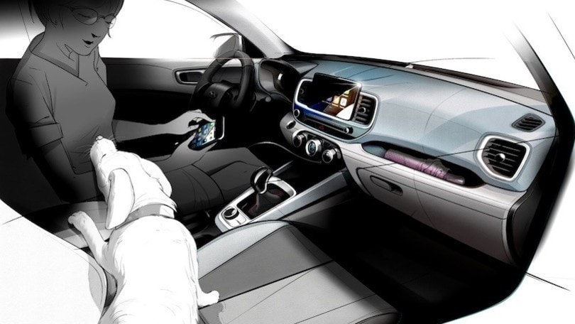 Hyundai Venue, i bozzetti del nuovo Suv del marchio coreano