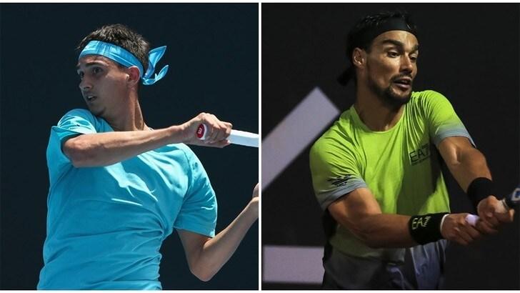 Tennis, Marrakech: passa Sonego, eliminato Fognini