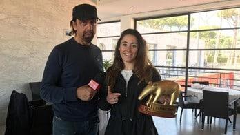 Sofia Goggia premiata con il Tapiro d'Oro per l'incidente al Sestriere