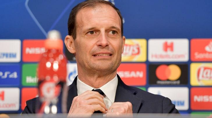 Juventus, Allegri: «Ronaldo titolare. Con l'Ajax non finirà 0-0»