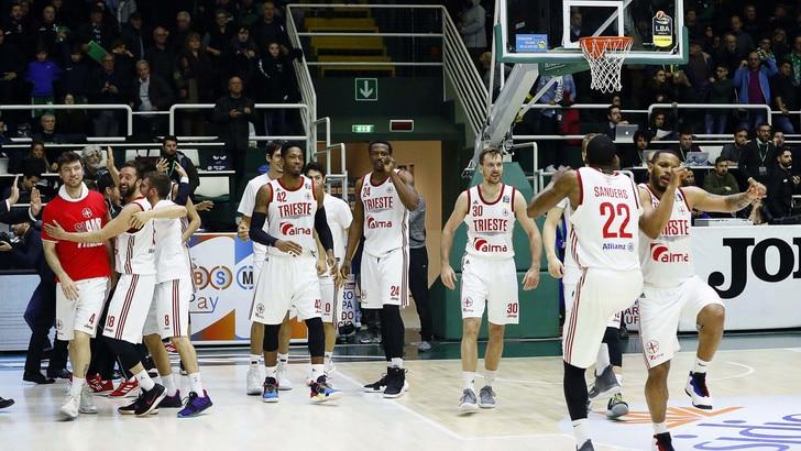 Basket, Serie A: Trieste batte Avellino ai supplementari