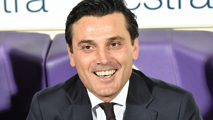 Fiorentina, ecco Montella a Firenze: «Felice di essere qui»