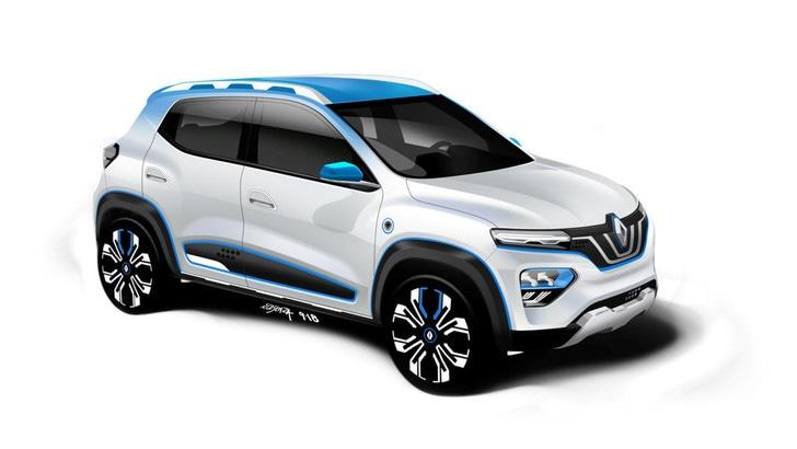 Renault City K-ZE, debutto al Salone di Shanghai per il Suv elettrico