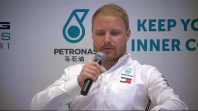 """Bottas: """"In Cina Ferrari super competitiva"""""""
