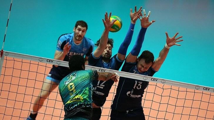 Volley: Champions League, Perugia che peccato, passa lo Zenit