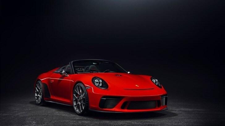 Porsche 911 Speedster, esordio al Salone di New York per l'auto celebrativa