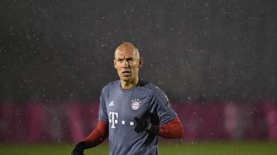 Bayern Monaco, sofferenza Robben: «Non so se giocherò ancora quest'anno»