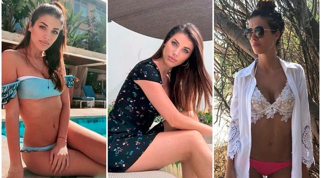 Eleonora Boi sexy in bikini a Los Angeles