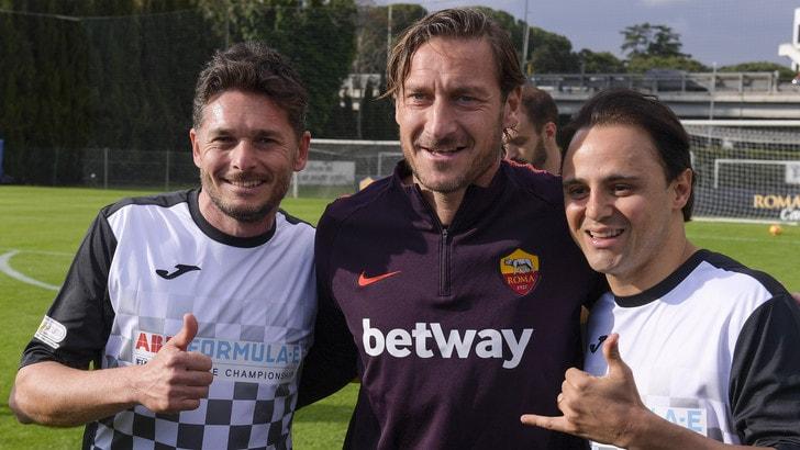 Roma, Totti: «Champions? Spero la Juve superi il turno»