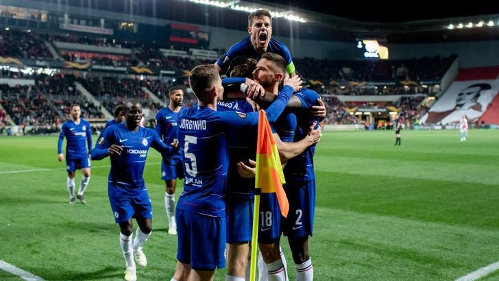 Europa League: al Chelsea basta Marco Alonso, Joao Felix show con il Benfica