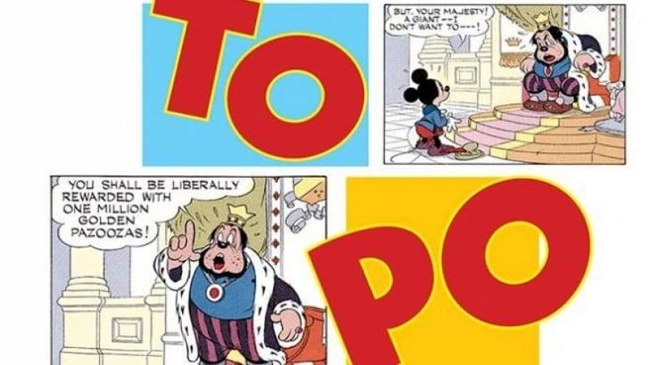 Topolino e Dragonero in mostra al Cartoons on the Bay