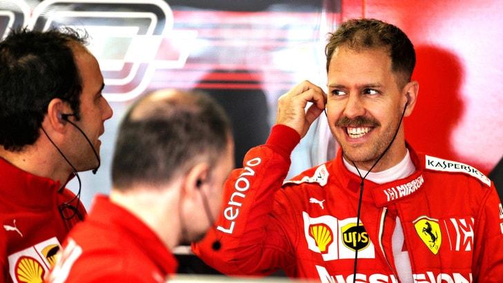 F1 Ferrari, Vettel: «Domani sarà la giornata chiave»