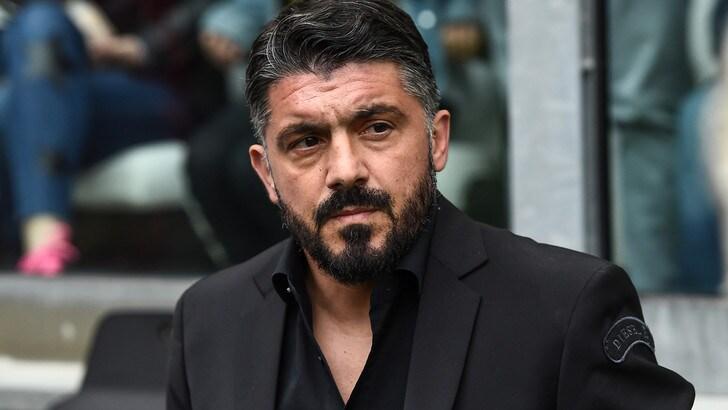 Milan, Gattuso: «Con la Lazio gara importante per la classifica»